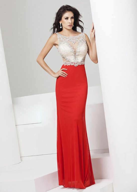 Fitted Red Prom Dresses 2015