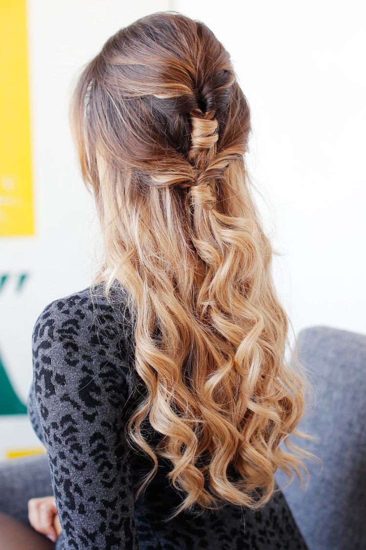 Cute u easy holiday hairstyle u luxy hair blog all about hair
