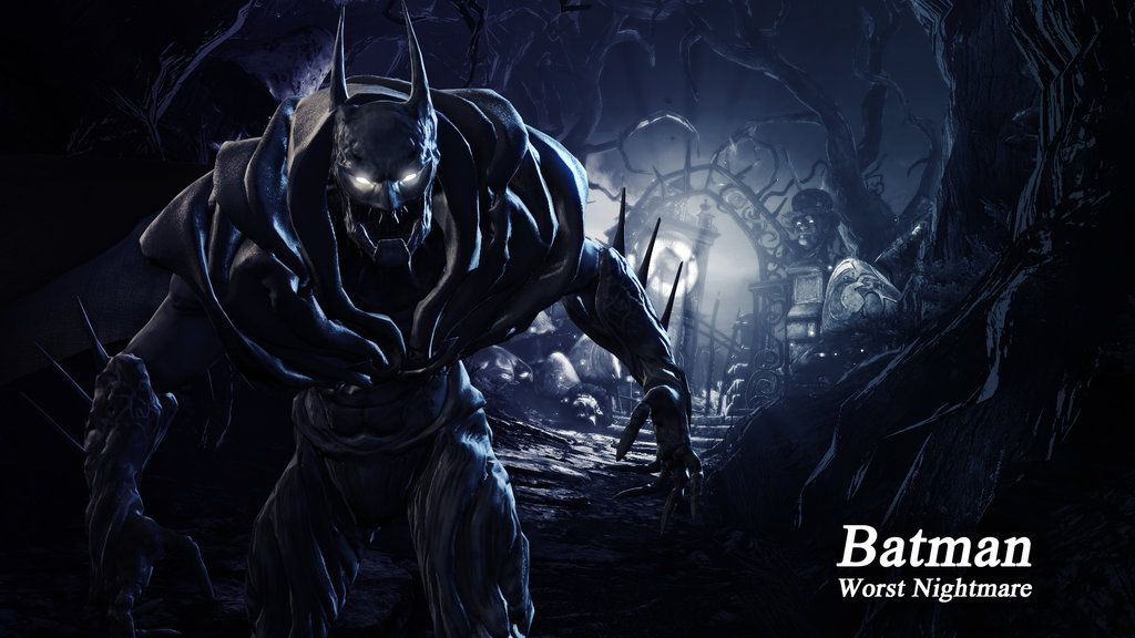 Batman Worst Nightmare Wallpaper From Batman Arkham Origins Using Program Photoshop Cs Full Size X Batman One Million Wallpaper Here