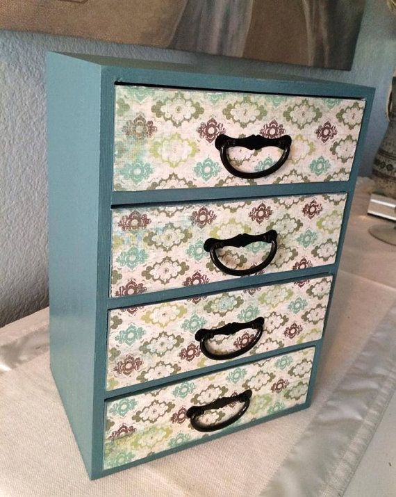 Beautiful Petite Chest of Drawers 8W x 5.5D x 11H  by SimplyParis, $39.95
