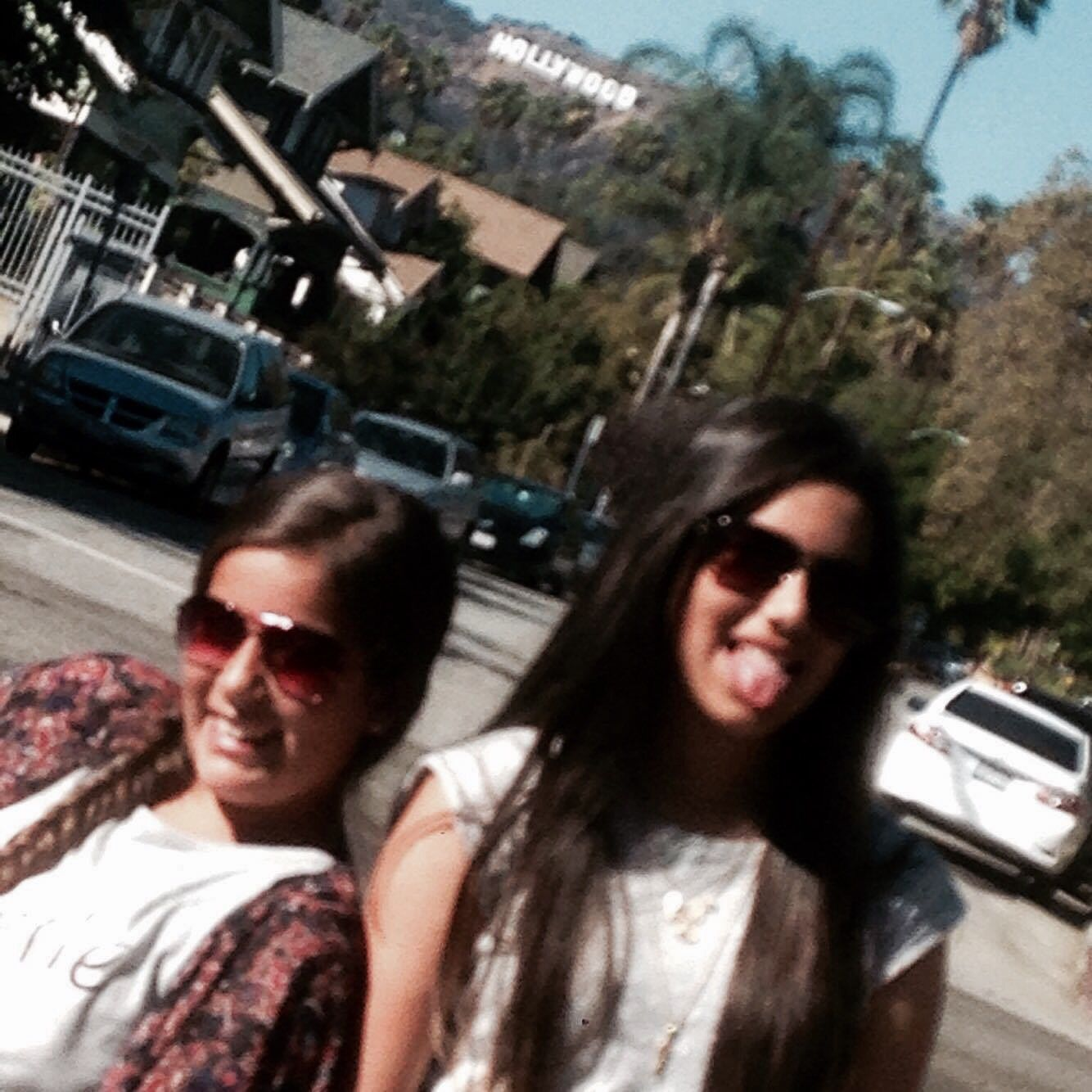 Hollywood sign:))