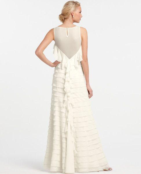 Breathtaking Glamour Wedding Dress @Ann Taylor @Style Me