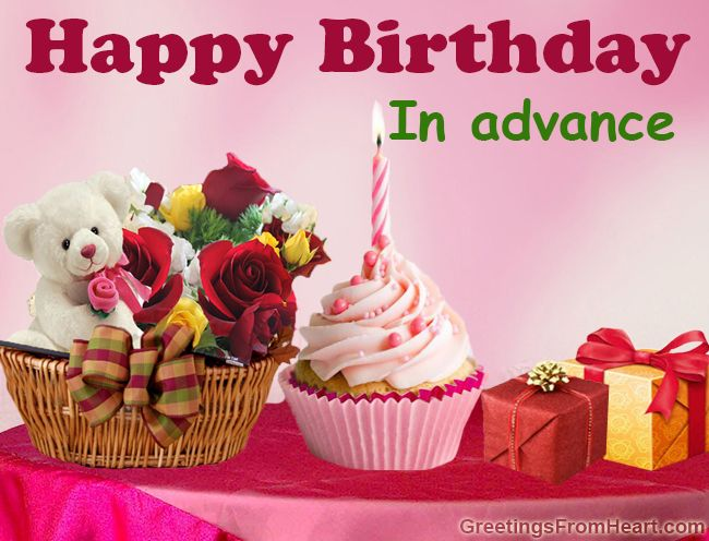 Advance Happy Birthday Wishes Hd Images Free Download Todays