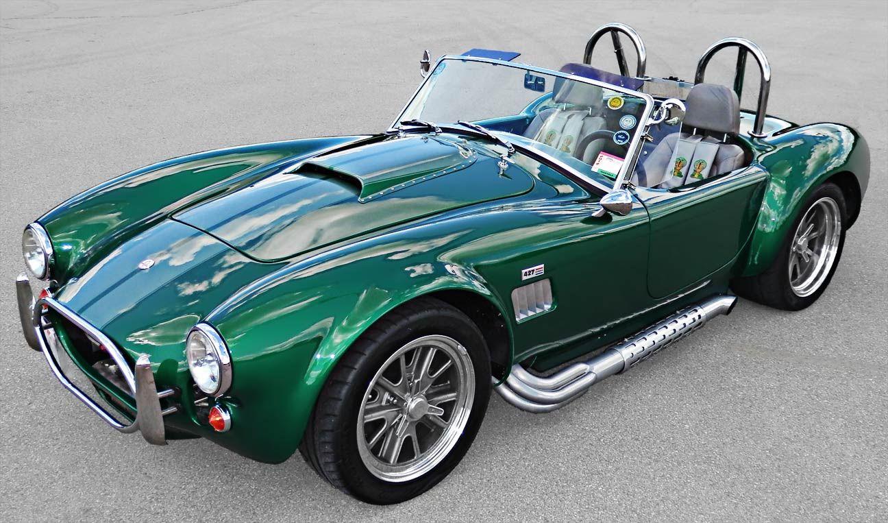 Green Ac Cobra Machines Can Be Art Pinterest Ac Cobra Cars