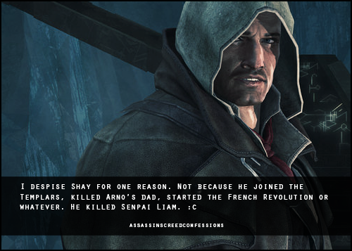 I M Not Alone I Loved Liam Assassins Creed Funny Assassins