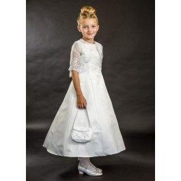 86107b7e3 Brianna CT5097 | girls dresses | Dresses, Communion dresses, Girls ...