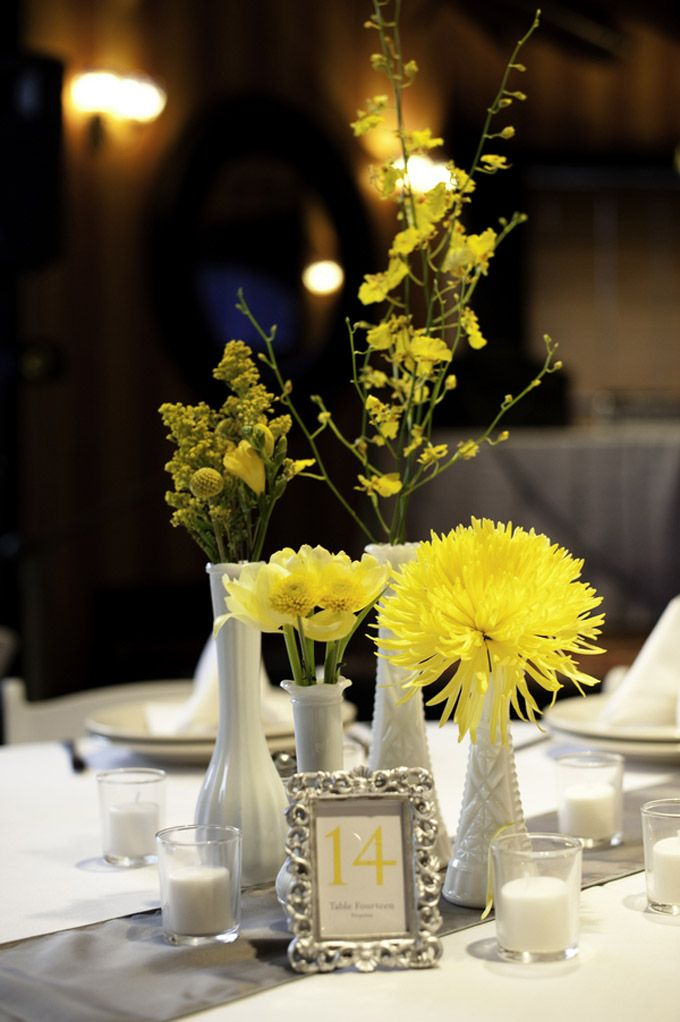 Modern Vintage Yellow And Gray Wedding Ideas For Wedding Sips