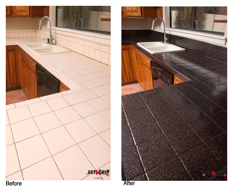 Countertop Resurfacing Tile Countertops Redo Resurface