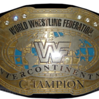 The Wwe Intercontinental Championship This Design Was Used In The Attitude Era Wwe Intercontinental Championship Watch Wrestling Wwf