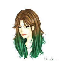 Maky's hair