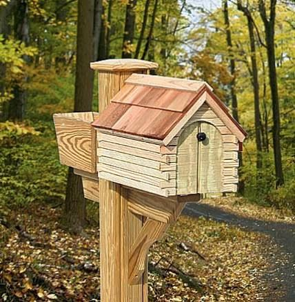 Log Cabins, Mailboxes   Google Search