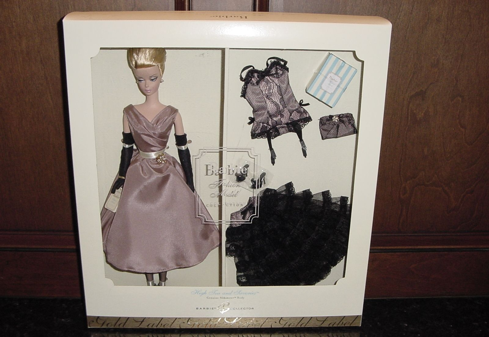 High Tea And Savories Barbie Doll GiftsetGold Label Doll