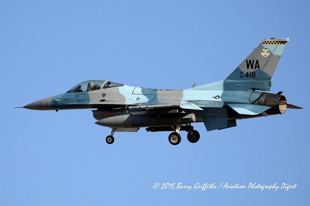 General Dynamics F 16c Viper S N 85 0418 Usaf 64th Aggressor Squadron Agrs 57th Wg Usaf General Dynamics F 16 Fighting Falcon