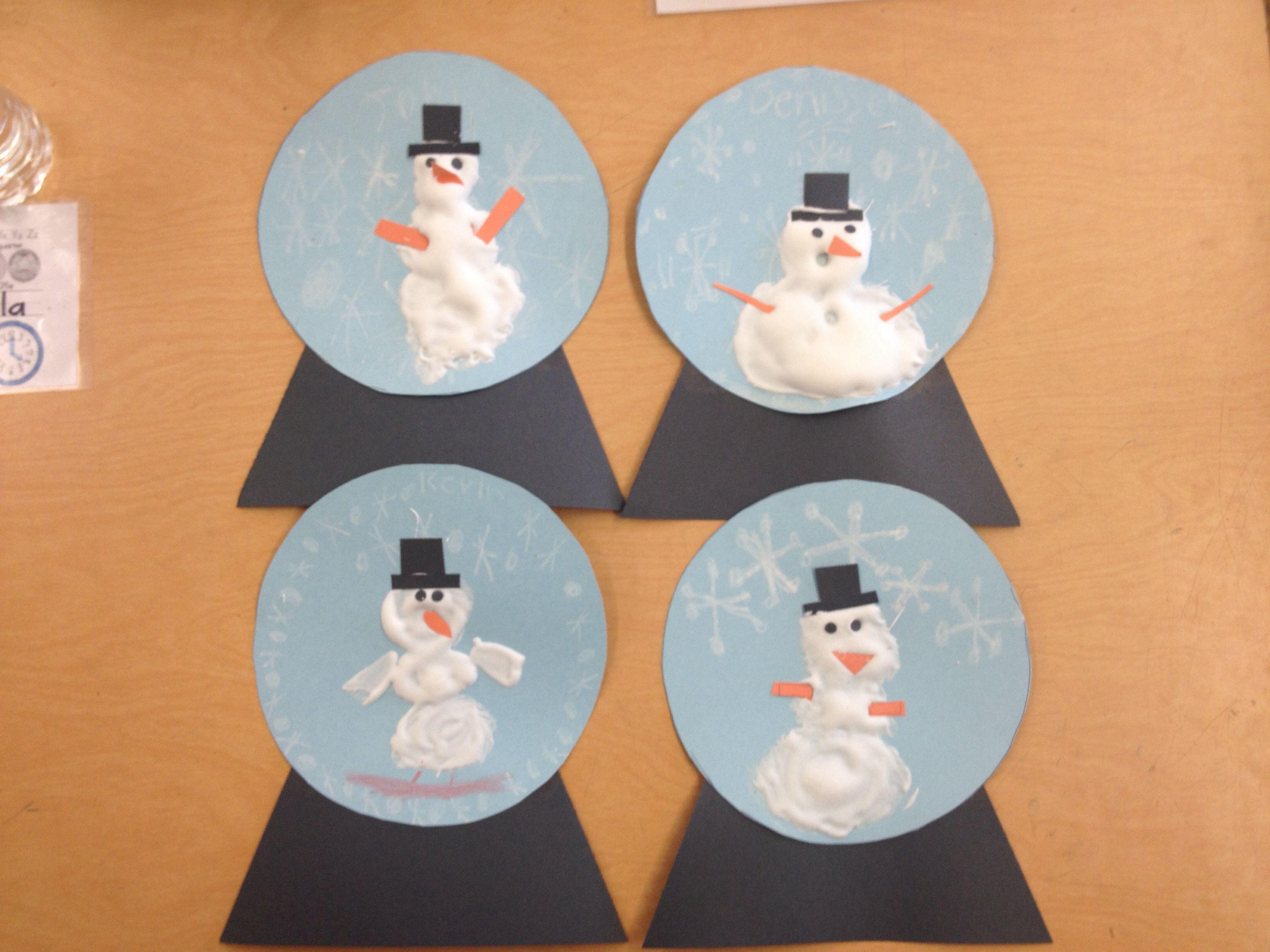 Winter Snowman Craft Ryan Christmas Party