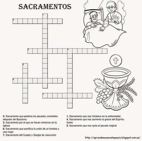 La Catequesis: Recursos Catequesis Los Sacramentos | actividades ...