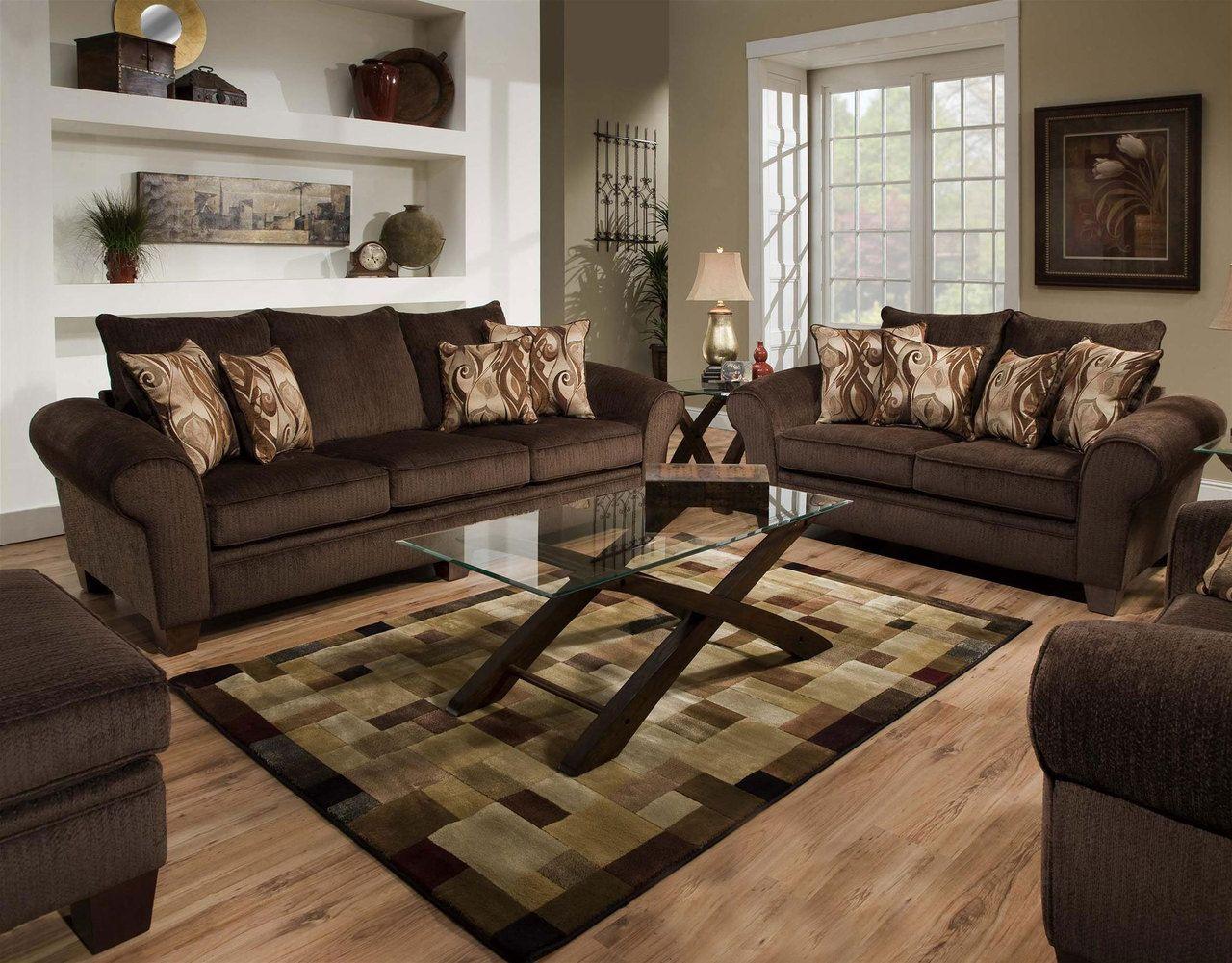Envy Godiva Sofa  Brown living room decor, Sofa and loveseat set