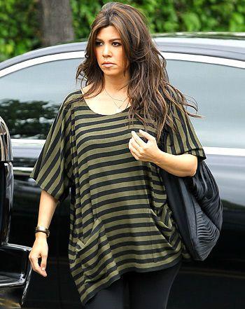 Kourtney Kardashian Defends Decision To Dye Her Hair While