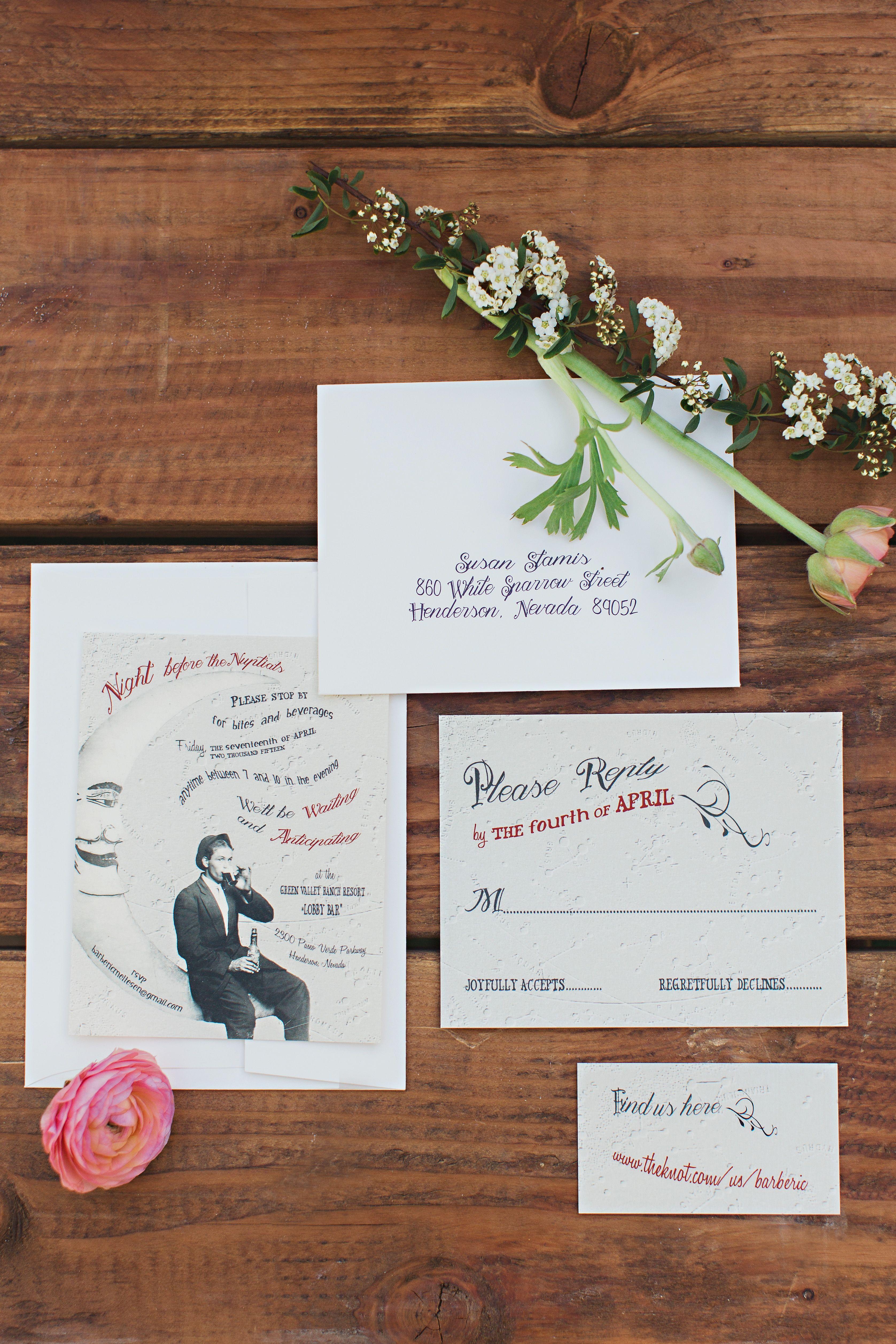 Mooninspired diy wedding invitations the future ez paper