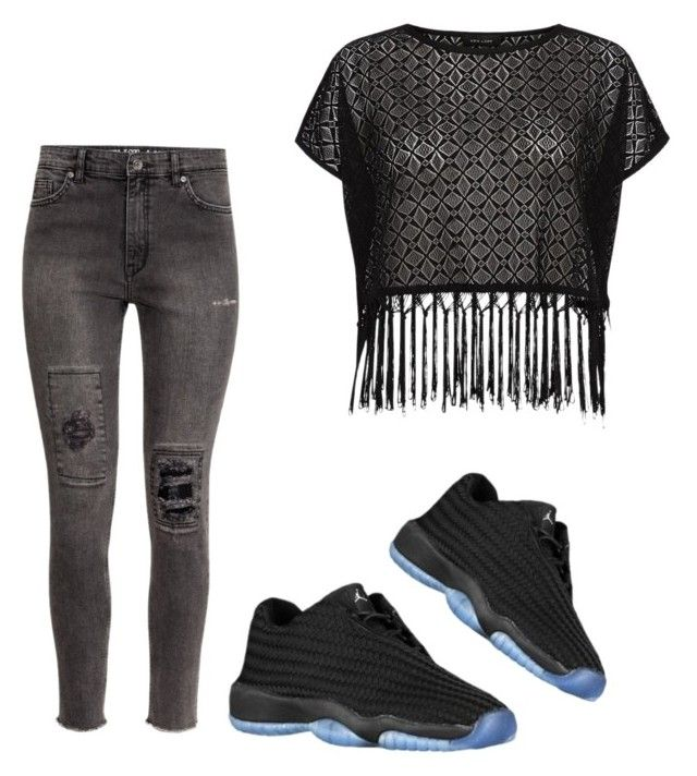 """""""Untitled #89"""" by destinygotem ❤ liked on Polyvore featuring H&M"""