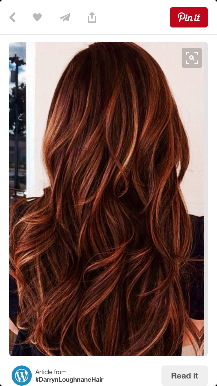 Pin By Traci Hurless On Red Hair Hair Styles Hair Highlights