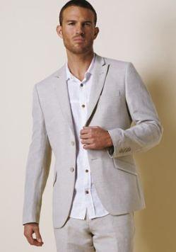linen suit men - Google Search | groomsmen | Pinterest | Groomsmen ...