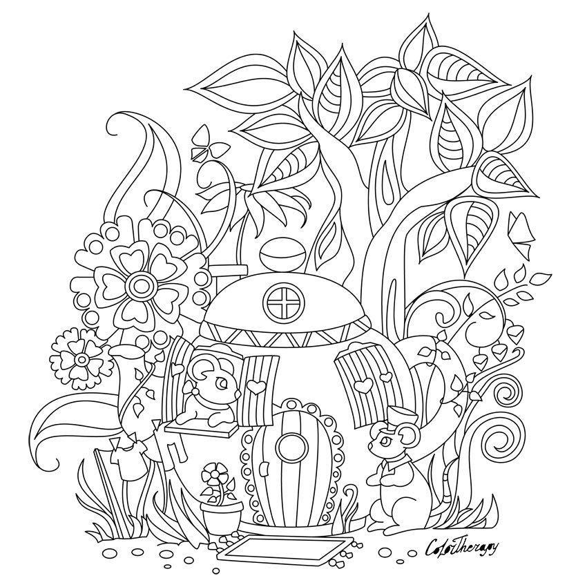 204 Otmetok Nravitsya 1 Kommentariev Best Coloring App For Adults Colortherapyapp V Instagram The Cute Coloring Pages Coloring Books Coloring Pages