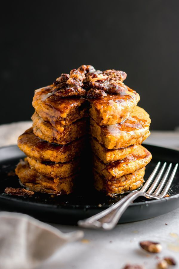 Fluffy Pumpkin Pancakes – These are the ultimate pumpkin pancakes! Light and fluffy, loaded with flavor, easy to make and topped with cinnamon sugar pecans. The only thing I want to eat all season long! |  We are want to say thanks if […]