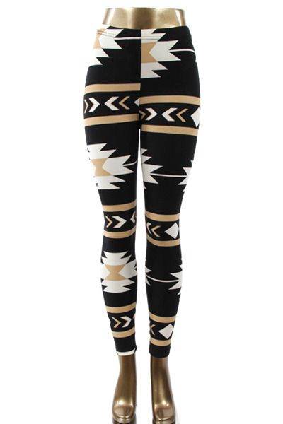 These aztec patterned leggings are going to become your ultimate fave! A definite must for this season. Pair them with a solid tunic, scarf and boots for the perfect look! Fashion 2014. www.psiloveyoumoreboutique.com