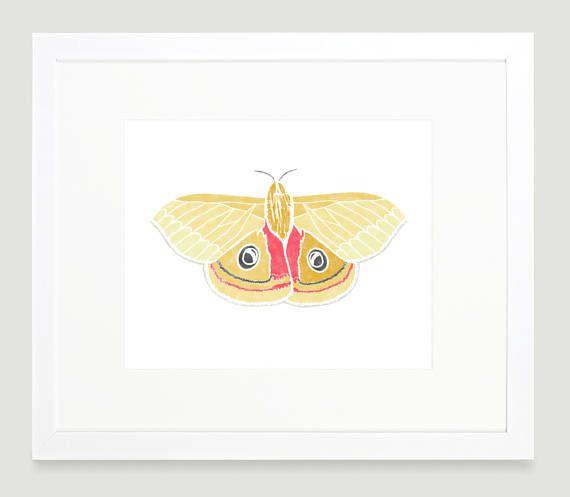 Butterfly Art Print - Nature Wall Art - Baby Girl Nursery ...