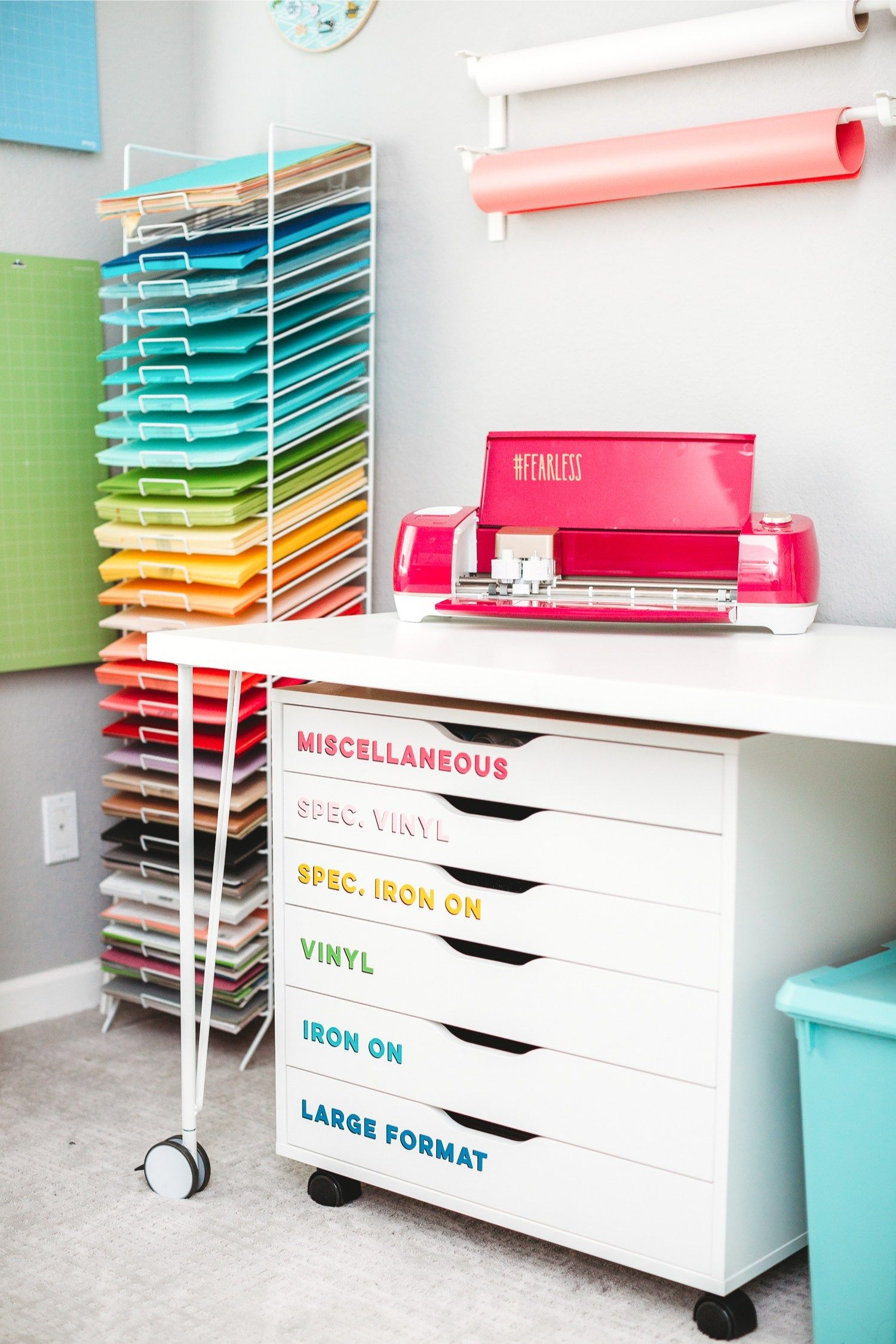Craft Room Organization Ideas + Craft Room Reveal!