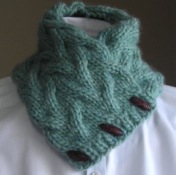 Knitting Pattern PDF- Sand Pond Neck Wrap/Cowl - easy quick gift ...