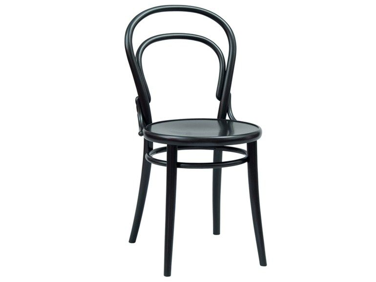 N 14 Wooden Chair By Ton Wooden Chair Bentwood Chairs Leather Chair Makeover