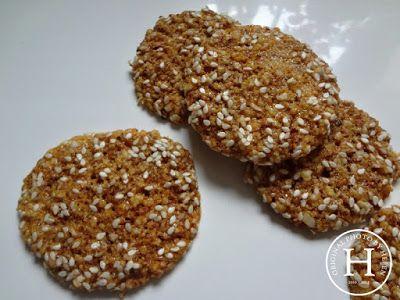 Sezamovo-medové cookies