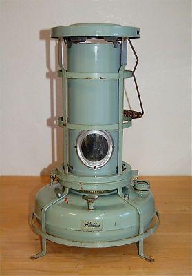 Vintage Aladdin Blue Flame Heater Model P 150051 No Reserve