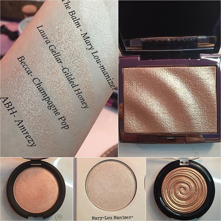 Image Result For Amrezy Highlighter Vs Gilded Honey Highlighter Dupes Makeup Your Face Makeup Dupes