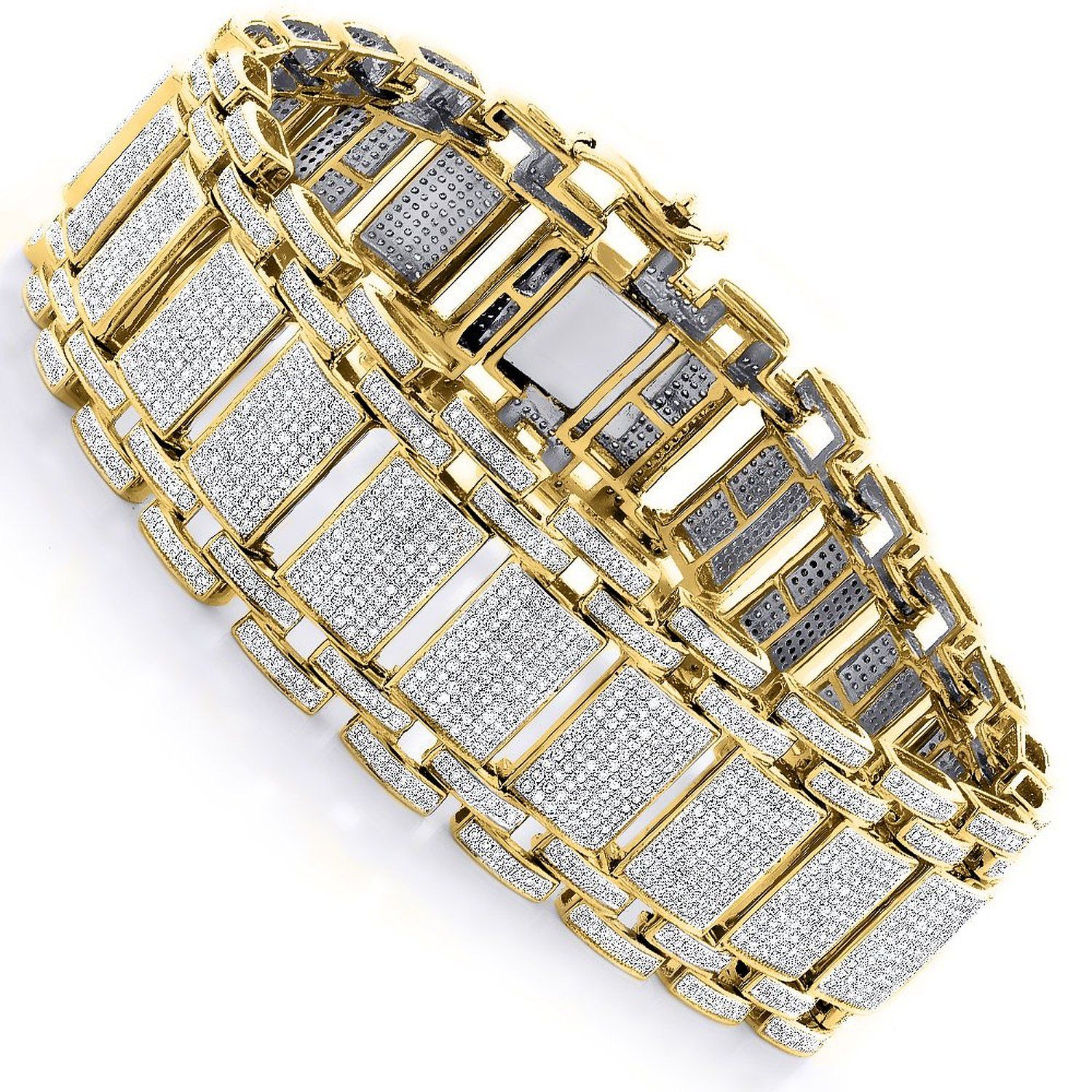 watch amazing necklace by row bracelet shine diamond mens jewelryfresh youtube lab chains
