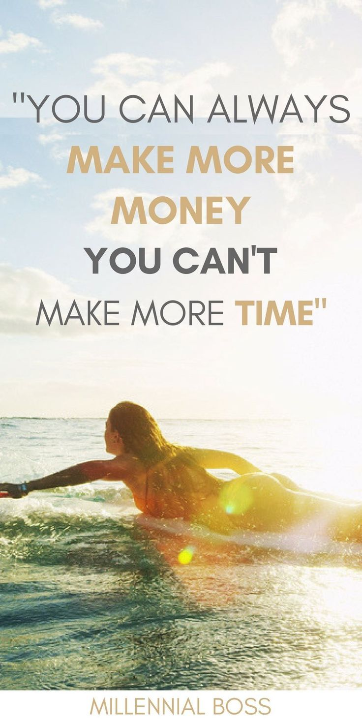 Life is too short to chase money - Read about entrepreneurs who chose freedom and time over money