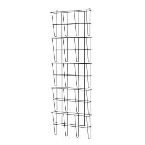 Buddy Products Wire Ware Pocket Letter Size Literature Rack