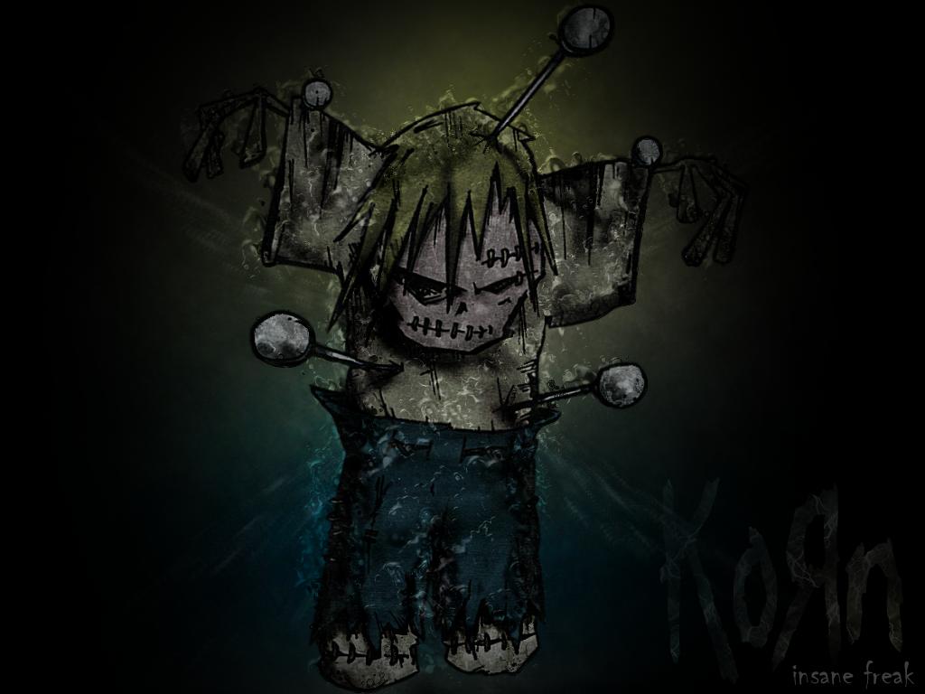 Korn磔のイラスト
