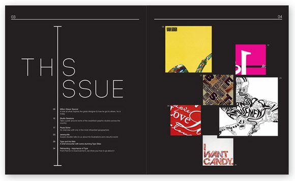 Inspirational and Attractive Magazine Page Layouts | Magazine page ...