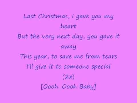 George Michael Wham Last Christmas With Lyrics George Michael Songs George Michael Guilty Pleasure Songs