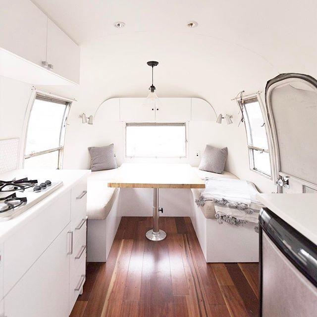 Mountain Modern Airstream Spent The Day Doing Paint Touchups So Best Airstream Interior Design Painting