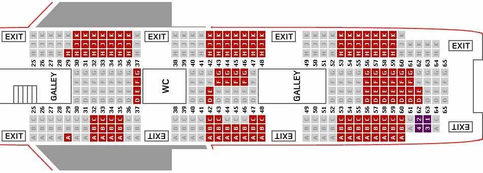 Virgin seating plan Florida Pinterest - seating chart