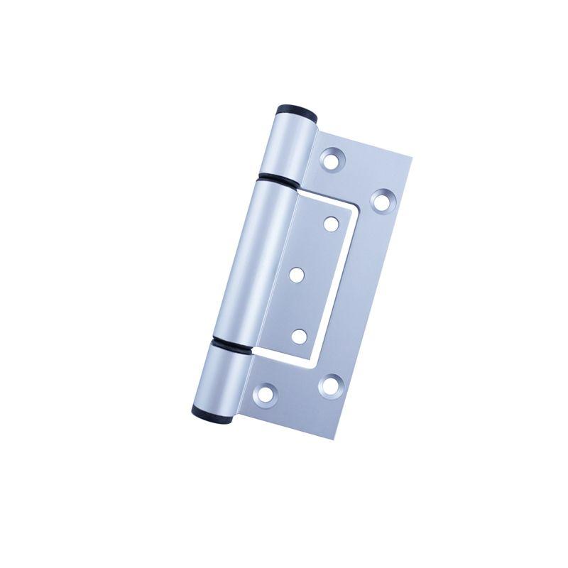Vinco 100 x 48 x 32mm aluminium fast fix tapered hinge in