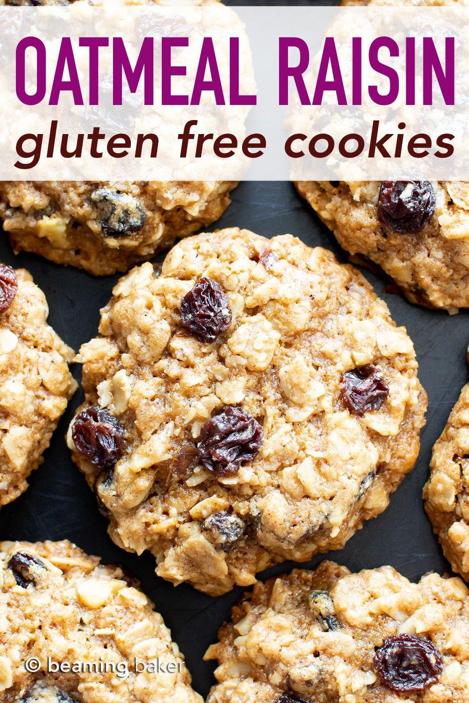 Classic Gluten Free Oatmeal Raisin Cookies Recipe V Gf A