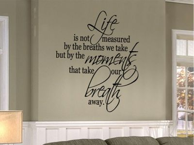wall art sayings quotes | Decorating Your Room With Vinyl Wall ...
