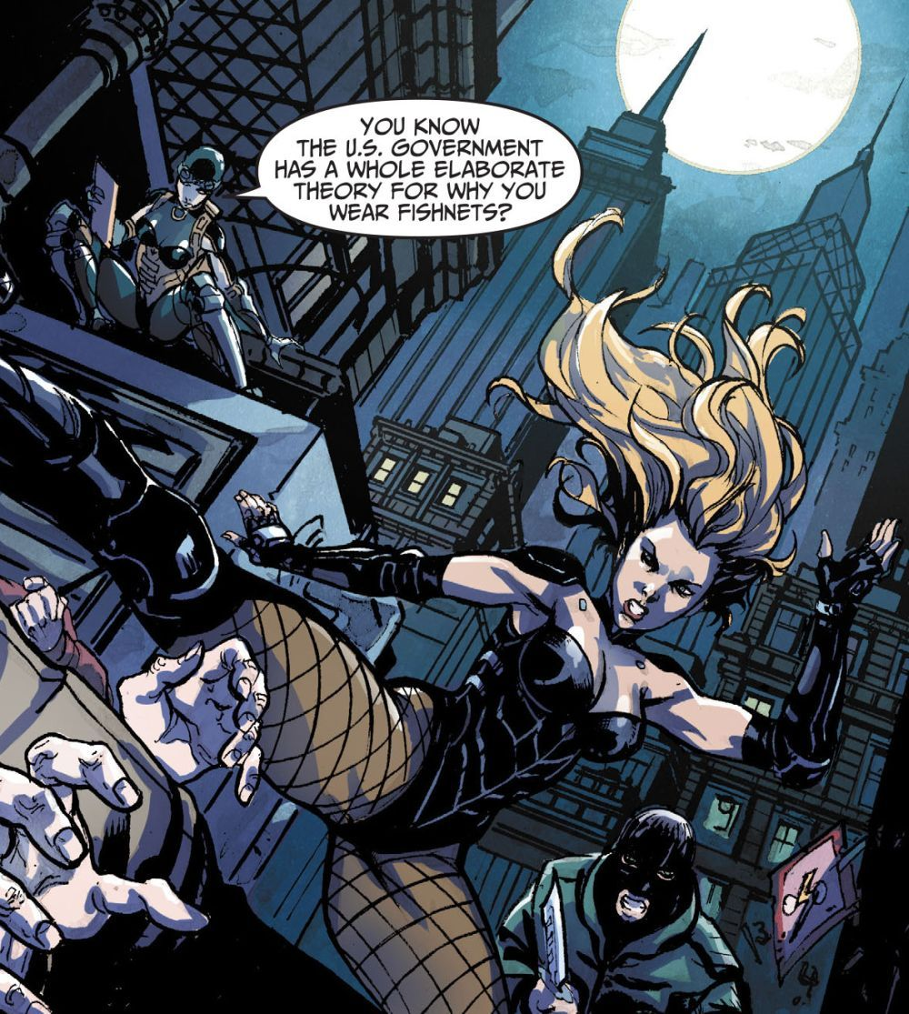 Injustice Gods Among Us 18 Catwoman And Black Canary Black Canary Arrow Black Canary Dinah Laurel Lance