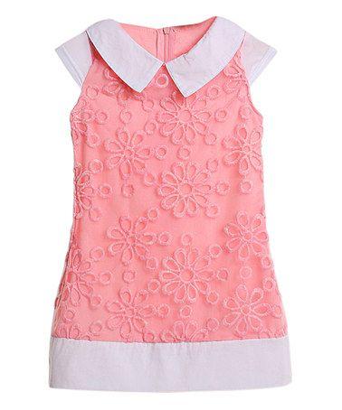 faedfeaa4cada Pink Daisy Dress - Toddler   Girls  zulily  zulilyfinds