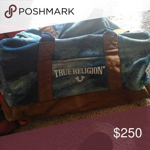 Tru dufflet bag Just need anew zipper True Religion Bags Shoulder Bags ab40219065c3d