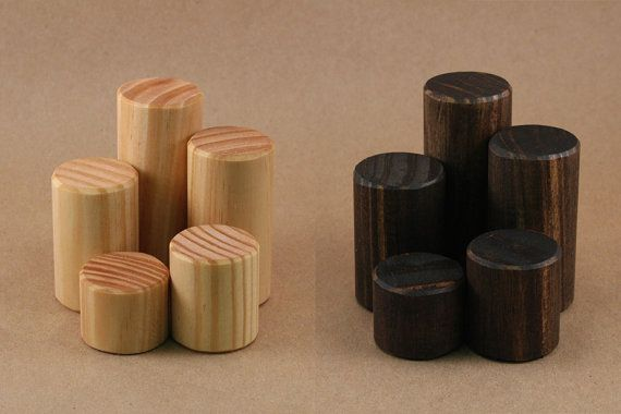Display Riser Ring Display Mini Wooden Riser Solid Wood Jewelry Cool Wooden Display Stands For Figurines